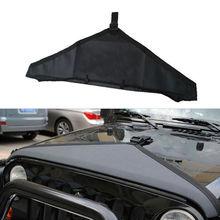1PC Black Car Hood