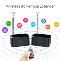 HOT Wireless IR Remote Extender Repeater HDMI Transmitter Receiver Blaster Emitter Kit Drop shipping