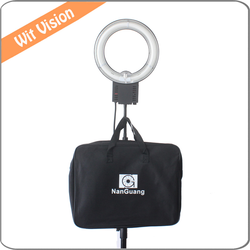 Nanguang 5400K 28W Flexible Ring Light + Carry Bag for Makeup Light and Selfie Camera Photo/Studio Photography Ring Lights Lamp цена