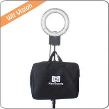 Nanguang 5400K 28W Flexible Ring Light Carry Bag for Makeup Light and Selfie Camera Photo Studio
