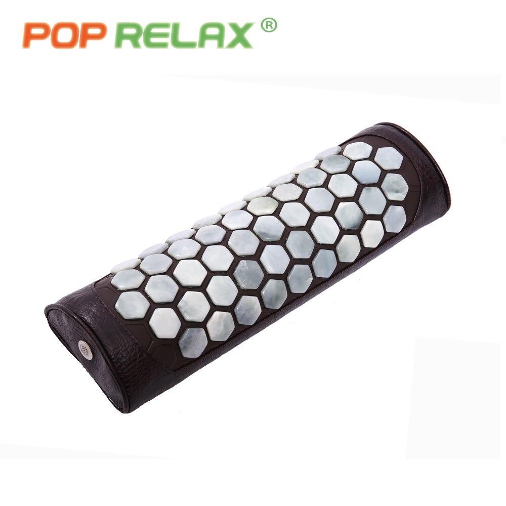 POP RELAX ekte jade stein cervical pute kropp midje tilbake - Helsevesen - Bilde 3