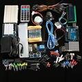 Бесплатная Доставка Окончательный комплект Hc-sr04 Ультразвуковой Датчик/Step Motor/Серво/1602 LCD/ООН R3 starter Kit с Розничной коробке