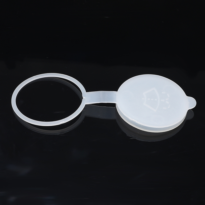 2 Pcs Auto Car Windshield Washer Bottle White Nozzle Cap Cover For Great Wall Hover H3 H5