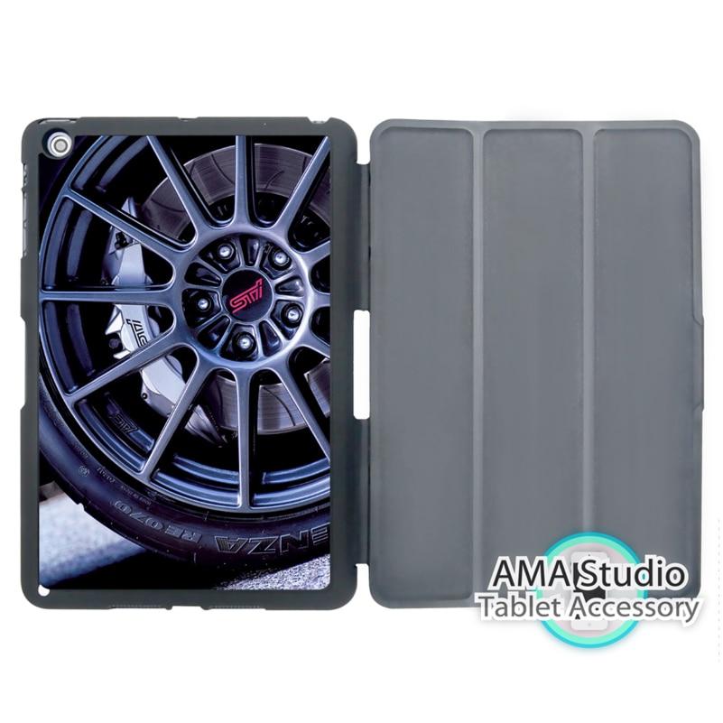 Styi Car Wheel Case For Apple iPad Mini 1 2 3 4 Air Pro 9.7 Stand Folio Cover 10.5 12.9 2016 2017 a1822 New