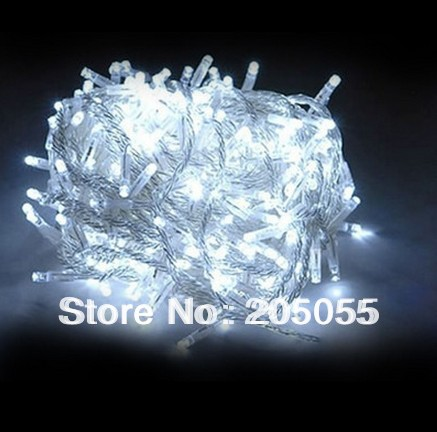 Qualified 30m 300 Led Christmas Tree Fairy String Lights Xmas Wedding Party 110v-white Dependable Performance Led String