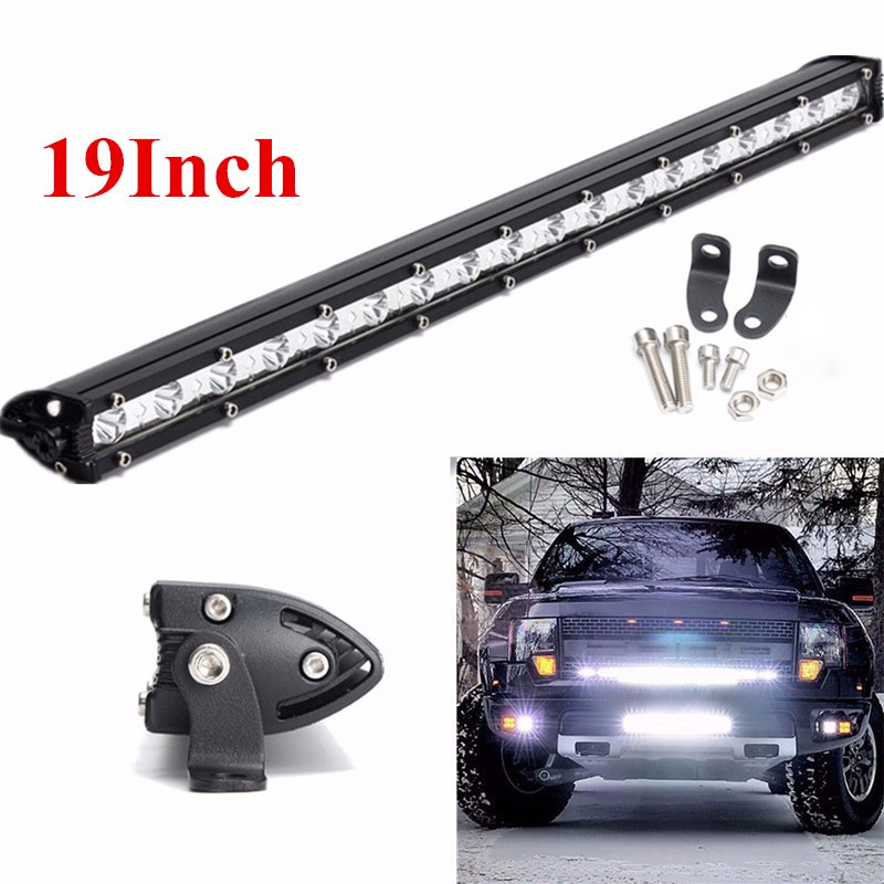 19 Inch 40W LED Work Light Bar Spot Flood Combo Driving Lamp Waterproof LED Work Light For Jeep SUV ATV Offroad Truck цены