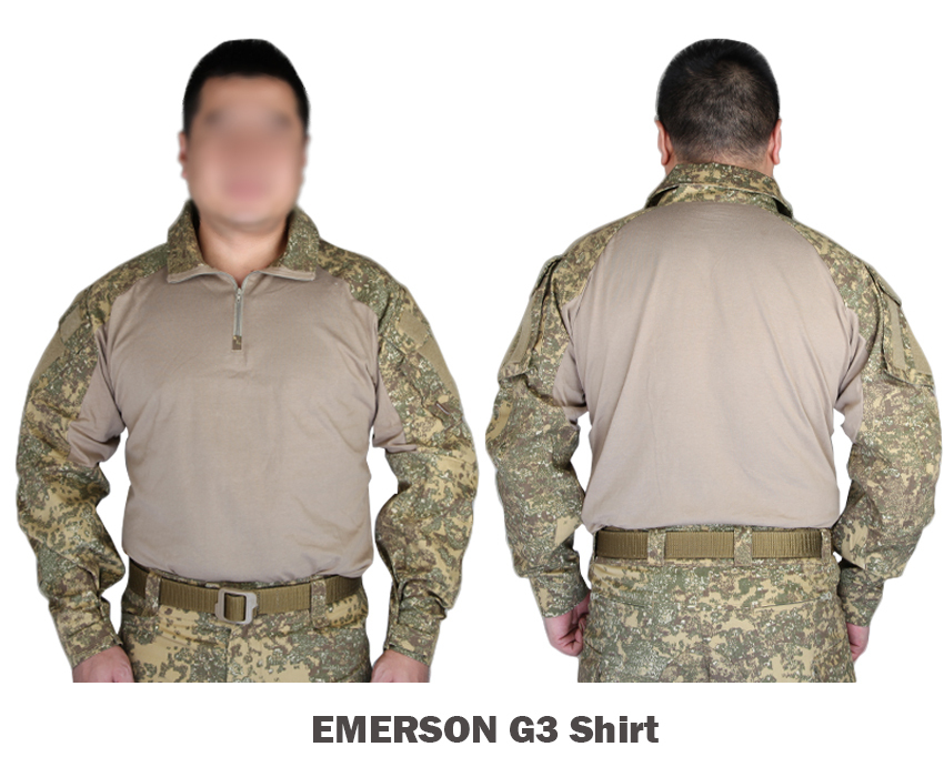 Ambitious Emerson Tactical G3 Airsoft Combat Gear Training Shirt Military Us Army Camouflage Badlands Color Bl Hunting Special Summer Sale