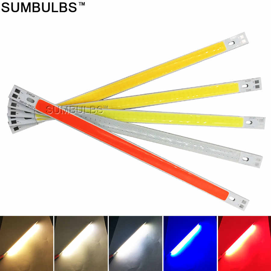 [sumbulbs] MIX DC 12V 2w-200w led cob lamp light emitting diode linear round colorful cob for car bulb cob led bar strip chip