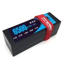 DXF POWER-Batería de polímero de litio para coche, barco, Dron, Robot, FPV, camión, 6500mAh, Lipo 4S, 14,8 V, 80C, 160C