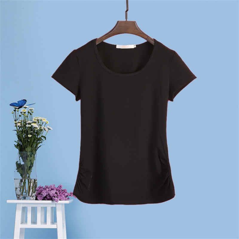 6XL Футболка женская Повседневная Harajuku Топ женские футболки Плюс Размер Уличная Футболка белая женская Повседневная футболка более размер Q1107