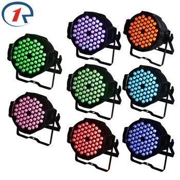 8 יח'\חבילה ZjRight 90 W RGB 54 LED אור נקוב שליטת DMX512 סאונד מקצוע LED בר dj אור דיסקו שלב אור לקונצרט מוסיקה