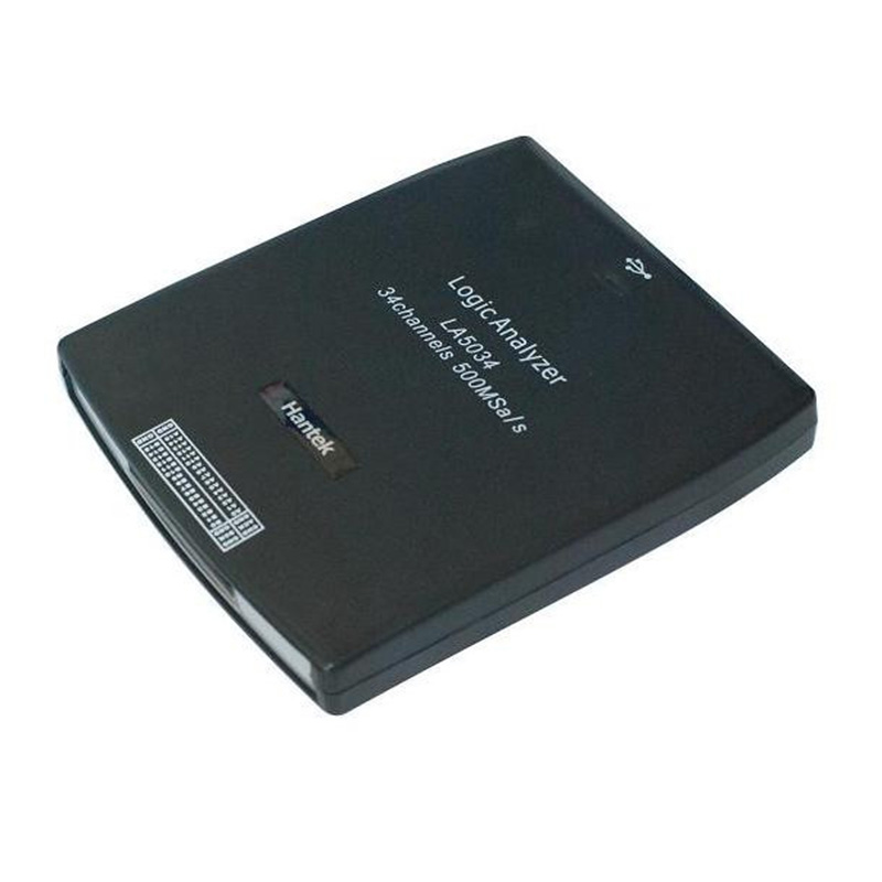 Hantek LA5034 34CH PC USB Logic Analyzer Sample rate 500MHz Bandwidth 150MHz LA-5034 Virtual Oscilloscope цены