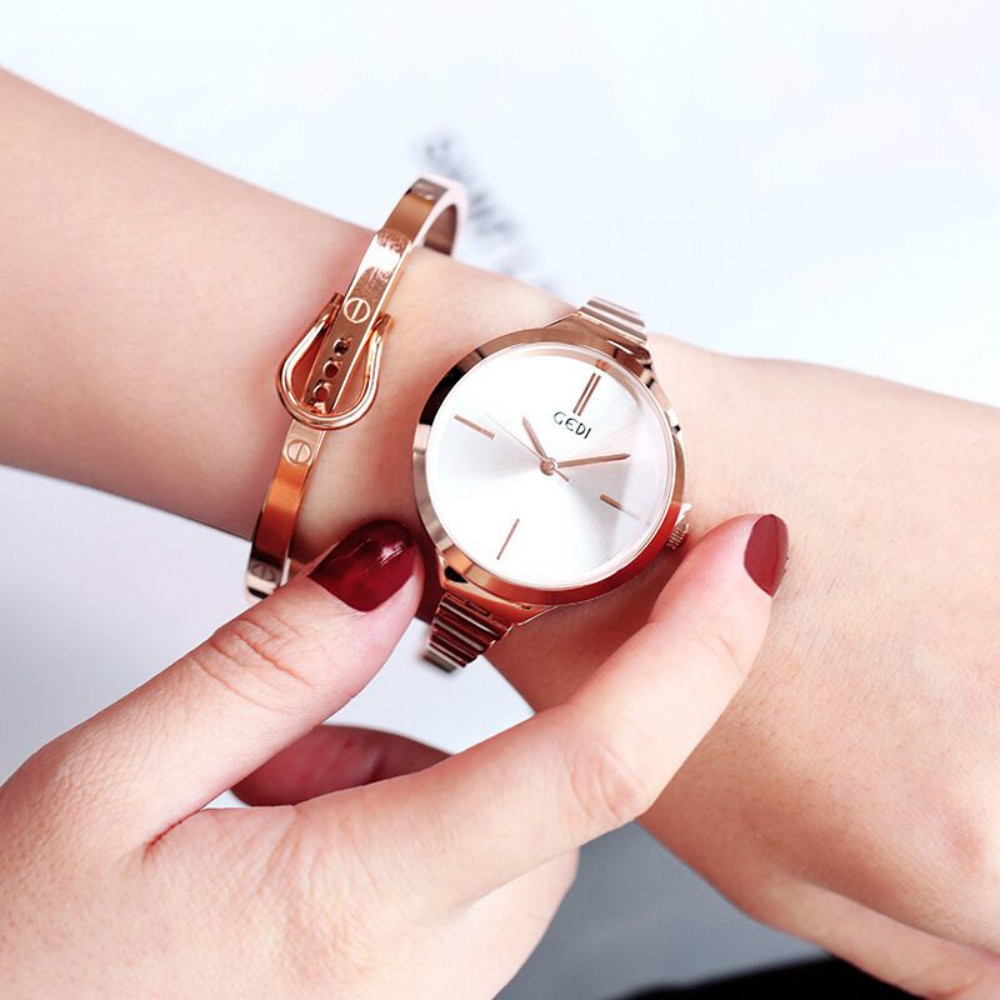 Watches women fashion watch 2019 luxury brand Quartz Watch lady Mesh Alloy Steel Womens Watches Relogio Feminino Clock