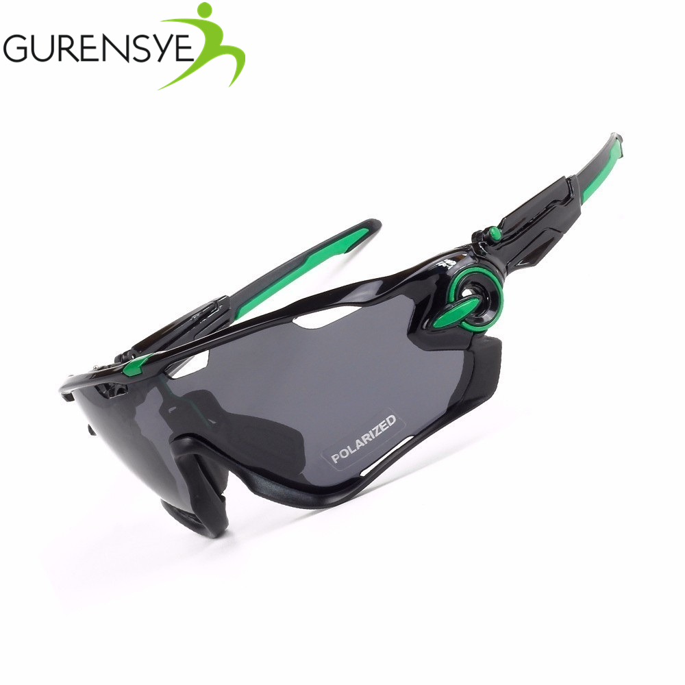 Gurensye Adjustable Leg TR 90 Frame 5 Lenses Sports Cycling Sunglasses Polarized MTB Bike Sport Glasses Goggles Bicycle Eyewear ...