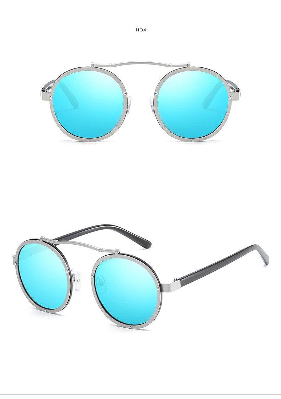 Classic Brand Sunglasses Men Women Glasses Coating Mirror Male Sunglass Metal Frame AQ424-432 Driving Sun Glasses For Men