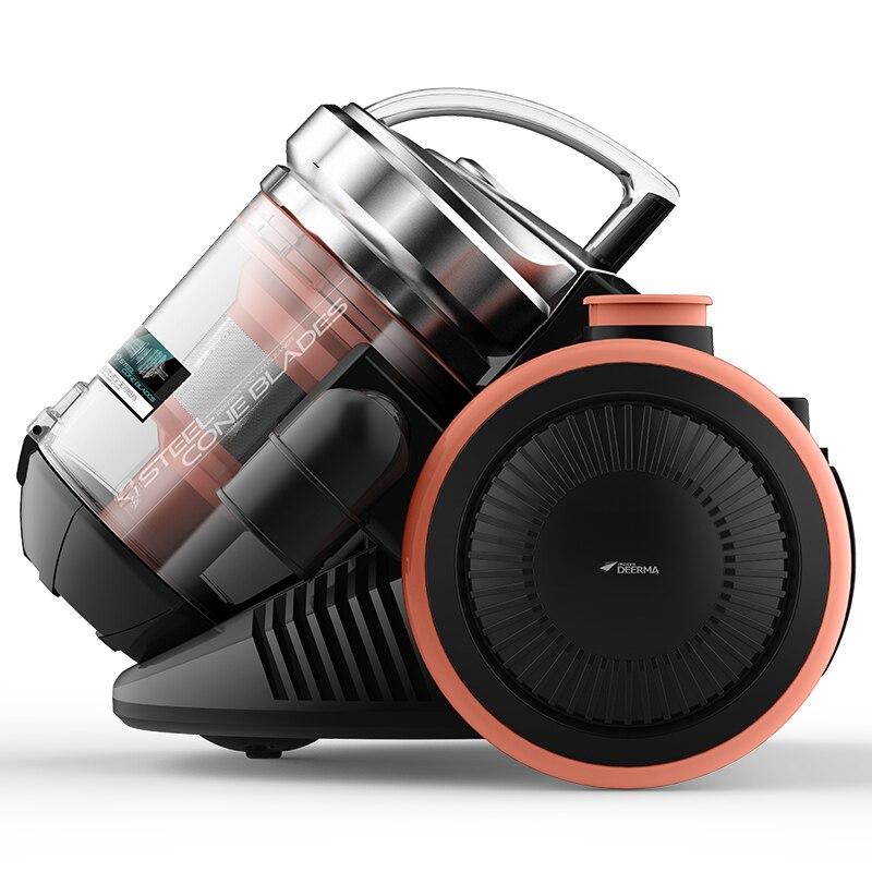 DEERMA aspirateur Horizontal ménage portable muet fort dépoussiérage tapis haute puissance