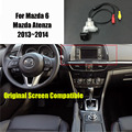 Thehotcakes Car Rear View Camera For Mazda 6 Mazda6 / Mazda Atenza 2013~2014 Original Screen Compatible Back Up Reverse Camera