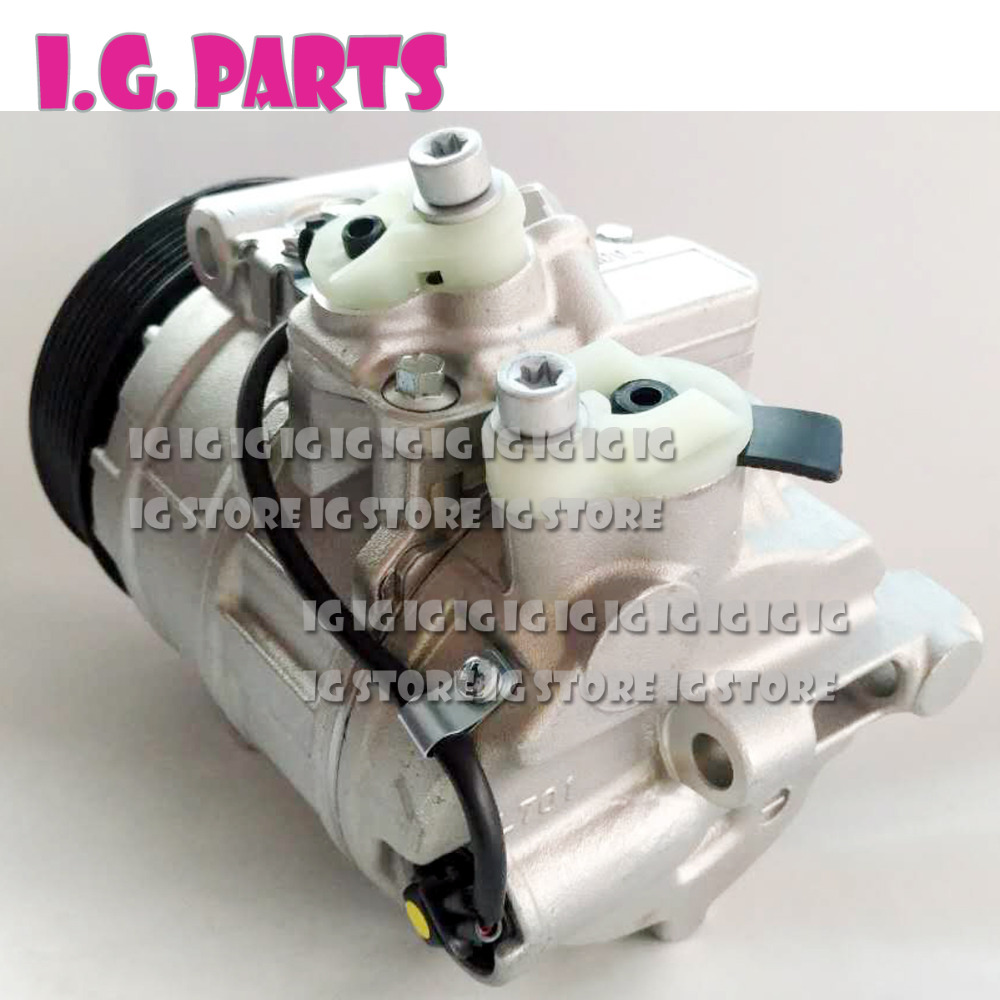 Air Conditioner Compressor For Mercedes W203 W220 0012300011 4472008851 4471709901 TSP0155339 W203 AC Compressor in Air conditioning Installation from Automobiles Motorcycles