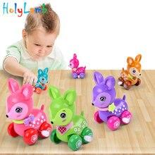 1 шт., смешная красочная заводная игрушка для малышей, олень, заводная Весенняя игрушка для новорожденных, заводная игрушка