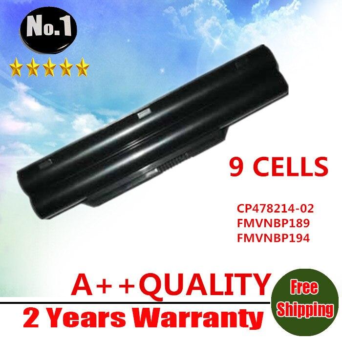 Prix pour Nouveau gros 9 cellules batterie d'ordinateur portable pour FUJITSU LifeBook A530 A531 AH530 AH531 BH531 LH520 FMVNBP186 FPCBP250 FPCBP250AP