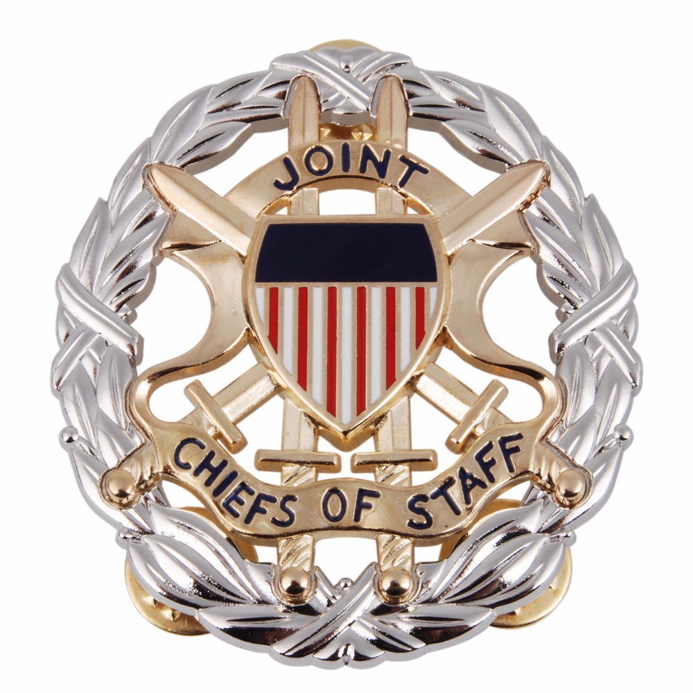 US OFFICE OF THE JOINT CHIEFS OF STAFF IDENTIFICATION METAL BADGE