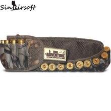 Sinairsoft 25 rounds Hunting Shell Belt Waterproof Camouflage Neoprene Tactical Shotgun Shell Bandolier Bullet Belt TA4