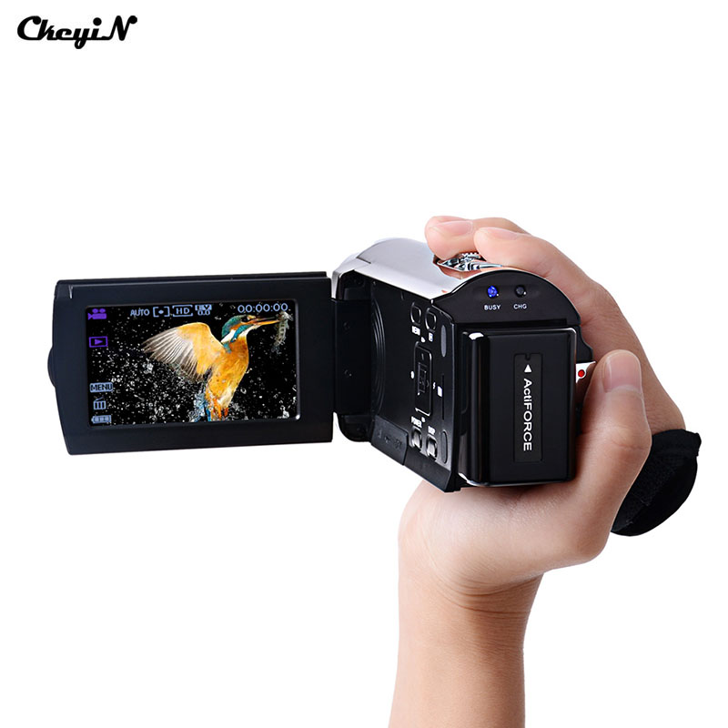 ФОТО 3.0 inch TFT LCD Touch Screen Camcorder Full HD 1080P 16X Zoom Digital Camera  Professional Camcorder Purple Color-2727