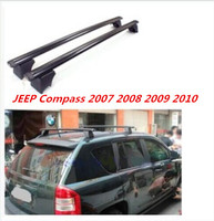 JIOYNG Aluminium alloy Car Roof Rack Baggage Luggage Bars Cross beam Fits For 07 10 JEEP Compass 2007 2008 2009 2010 Fast By EMS