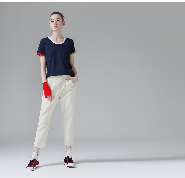 HTB1GaoEPpXXXXc5aXXXq6xXFXXXd - T Shirt Women Short Sleeve O-Neck Cotton
