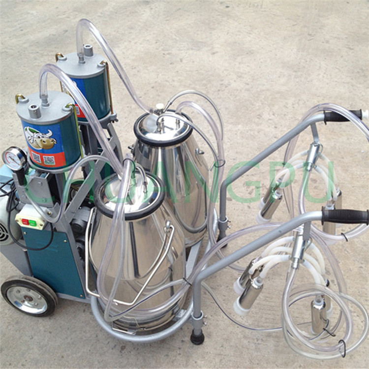 With High Milk Production Cow Milking Apparatus Machine Price