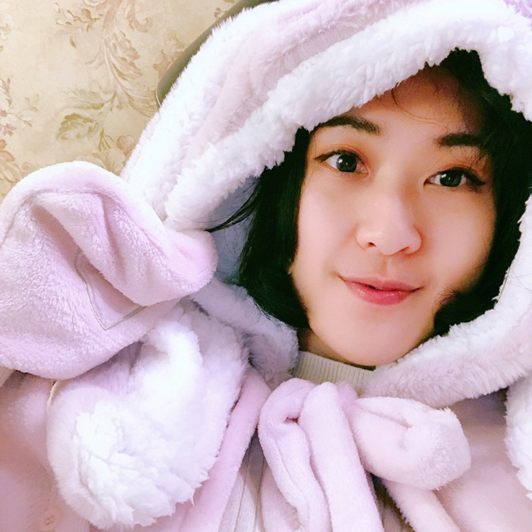 Cute Pink Comfy Blanket Sweatshirt Winter Warm Adults and Children Rabbit Ear Hooded Fleece Blanket Sleepwear Huge Bed Blankets 37