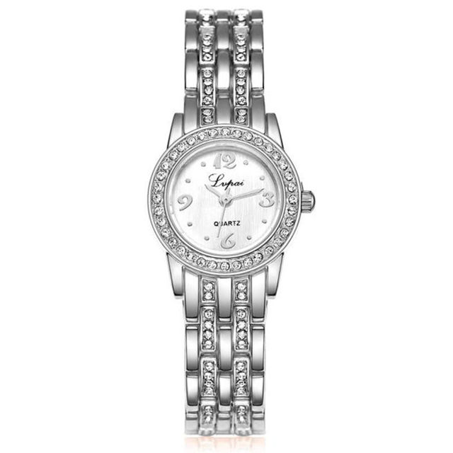 2018 Hot Sale Women Watch!Luxury Fashion Crystal Women Bracelet Watch Female Dia