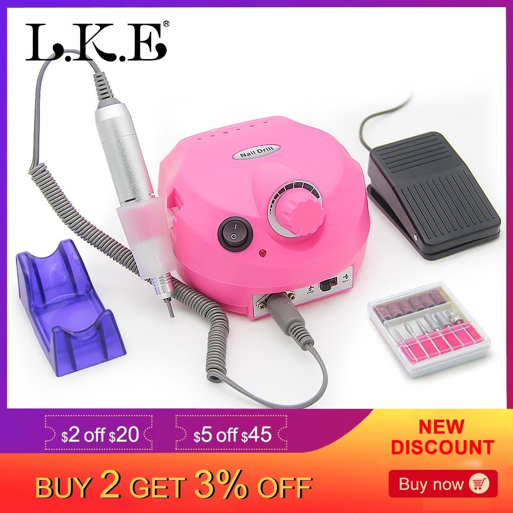 Купить LKE 30000 RPM Pro электрический ногтей дрель аппарат ...