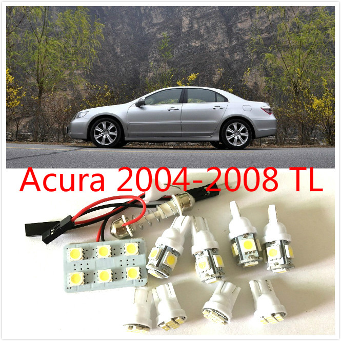 9pcs white led lights interior package kit for acura 2004 - 2004 acura tl led interior lights ...