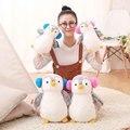 25/35 cm creativo Encantador pingüino muñeca Amantes de la muñeca de los niños juguetes de peluche de cumpleaños de la muchacha Regalo de Boda juguetes