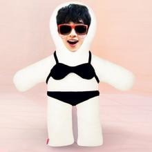 New Hot Photo customization Bikini Cushion Plush Toys Dolls Stuffed Animal Pillow Sofa Car Decorative Creative Birthday Gift