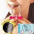 8 Unidades/pacote Fêmea lábio cabelo primavera dispositivo de remoção de pêlos faciais defeatherer independente e da remoção do cabelo