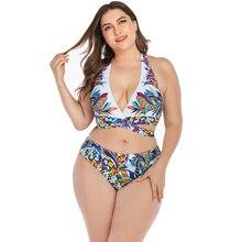 Big size swimwear women sexy bikini set 2019 swim suit women swimwear 2 piece bathing suit brazilian biquini push up beach wear цена