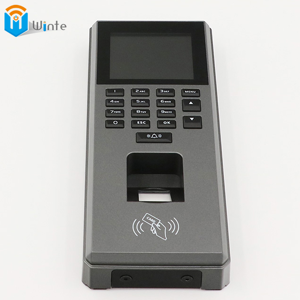 Fingerprint RFID Access Control Machine big Size Sreen Digital RFID Reader Scanner Sensor For Door Lock Time Attendance DouWin f807 tcp ip biometric fingerprint access control machine digital electric rfid reader scanner sensor code system for door lock