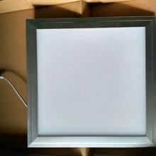 Быстрая SMD чипы Светодиодные ультра тонкие 300x300 поверхностного монтажа тонкий плоский потолочный квадратный светодиодный панельный свет