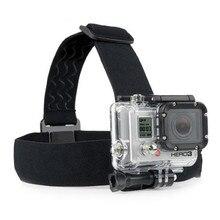 Go Pro Adjustable Head Strap Headstrap Belt Mount Anti-slide monopod For Gopro Hero 3 3+ 4 sj4000 Cameras Accessories