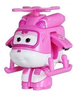 12 стилей, мини Супер Крылья, деформация, мини реактивный ABS робот, игрушка, фигурки, Супер крыло, трансформация, игрушки для детей, подарок - Цвет: No box Pink