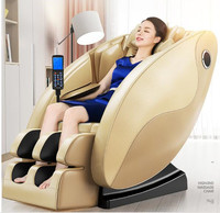 Multifunctional body massager massage chair household automatic intelligent capsule body kneading electric chair sofa