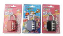 6pcs/lot! Password Combination Code Number Lock Padlock For Luggage Bag Backpack Handbag Suitcase Drawer