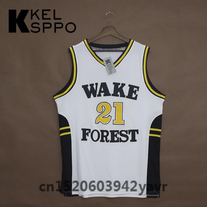 sports shoes 4d629 e43e7 Custom Adult Throwback Basketball Jerseys #21 Tim Duncan ...