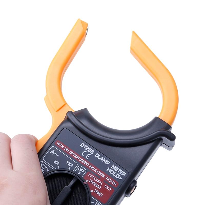2019 Digital Voltmeter Ammeter Multimeter Volt AC DC Tester Meter DM6266 Yellow Tools in Multimeters from Tools