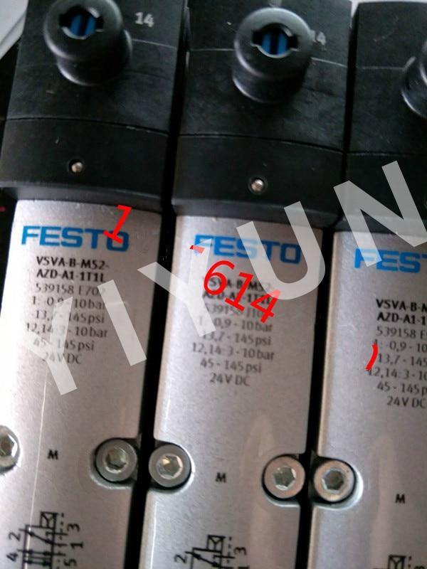цена на VSVA-B-M52-AZD-A1-1T1L 539158 VSVA-B-P53C-H-A1-1C1 546708 VSVA-B-P53C-ZD-A1-1T1L 539162 FESTO Solenoid valve