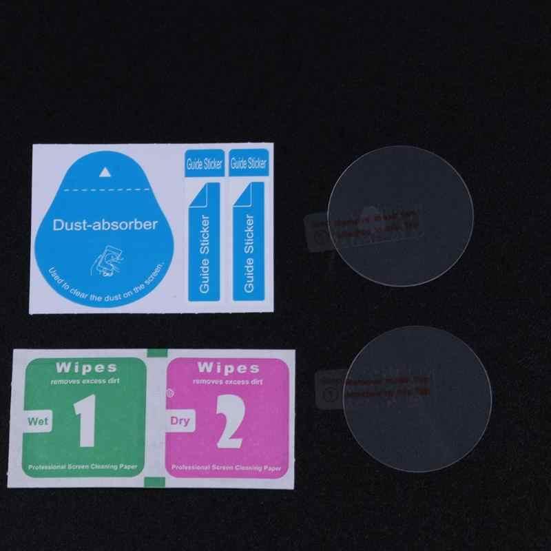 ALLOYSEED 2 יח'\חבילה 9 H 2.5D מזג זכוכית מסך מגן חכם שעון נגד שריטות מגן סרט עבור CASIO PRW-6000 PRW-6100
