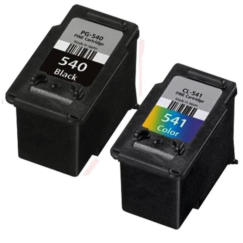 2PK Compatible Canon PG540 CL541 Cartouches D'encre PG 540 CL 541 Pour PIXMA MG3250 MG3255 MG3550 MG4100 MG4150 MG4200 MG4250