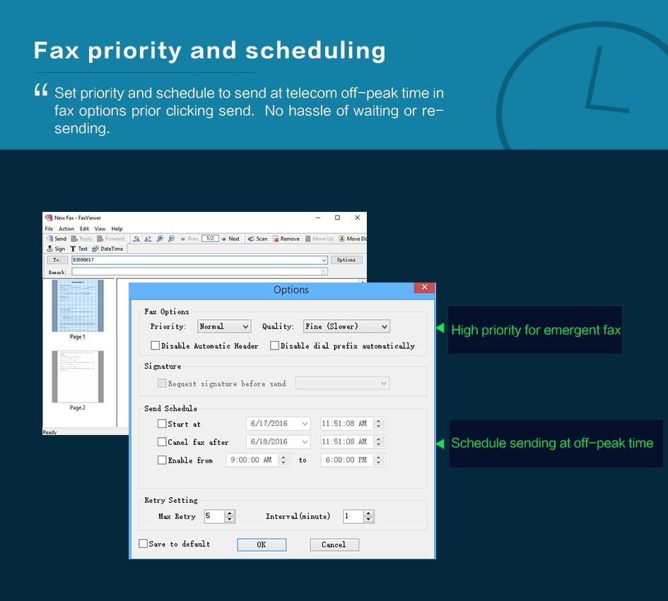 High Quality fax server